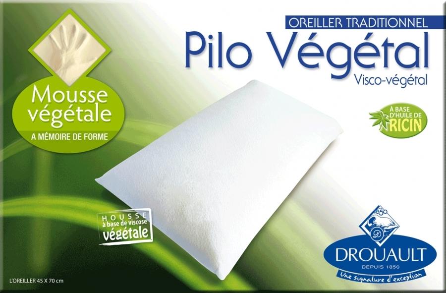 Oreiller Pilo Végétal Drouault