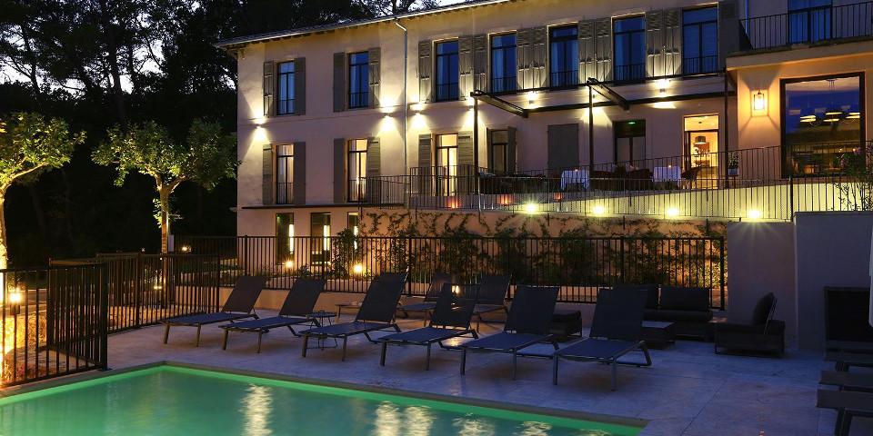 Les Lodges Sainte-Victoire : sous les platanes, les splendeurs de la Provence