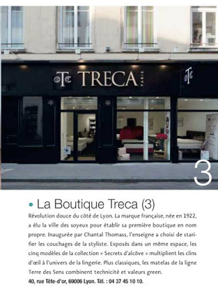 Boutique Treca Lyon : article IDEAT